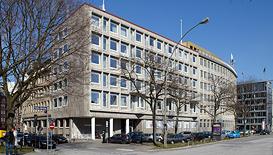Gebäude der AVH